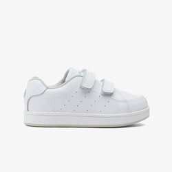 Unisex White Washable Leather Trainers