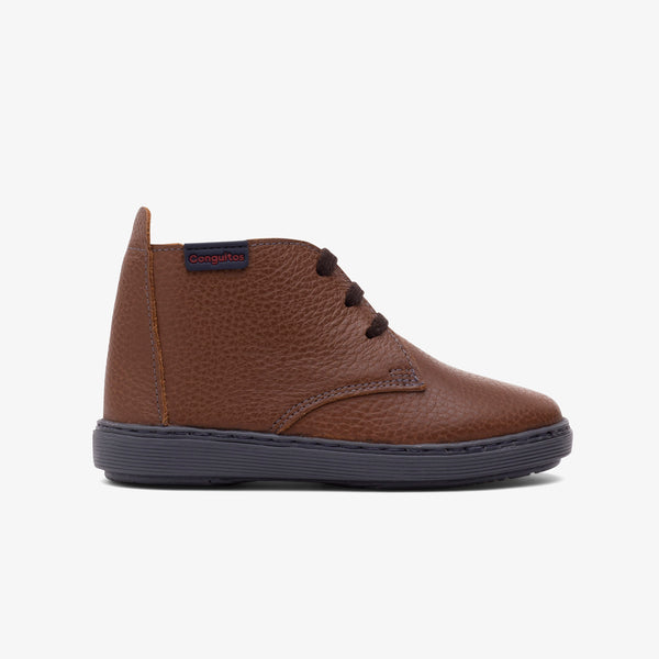 Boy's Brown Napa Boots