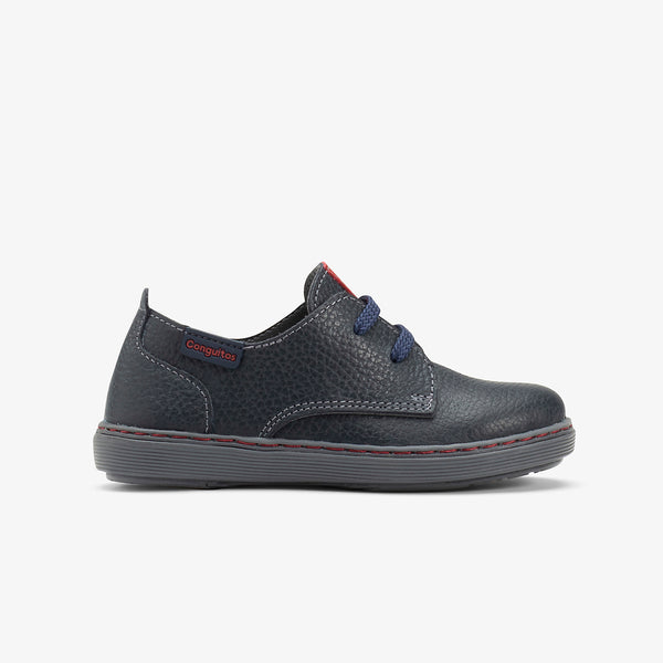 Boy's Navy Napa Shoes
