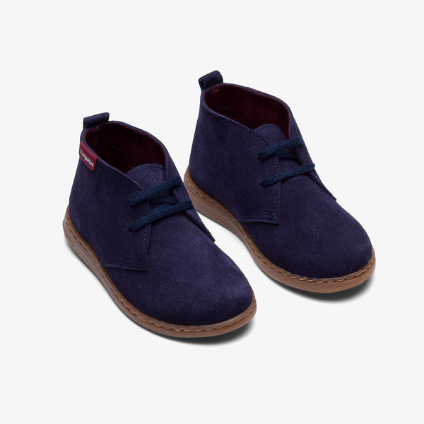 Boy's Navy Water Repellent Boots
