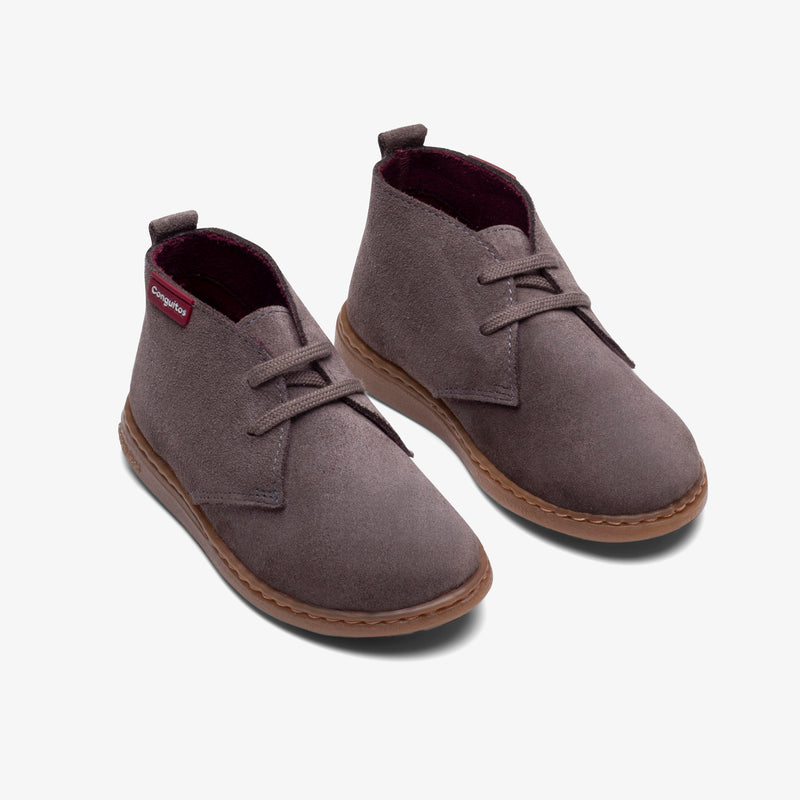 Boy's Taupe Water Repellent Boots