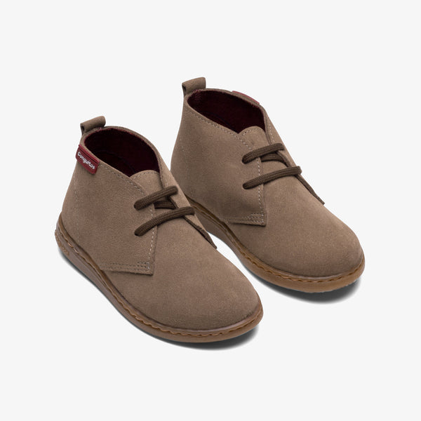 Boy's Camel Water Repellent Boots