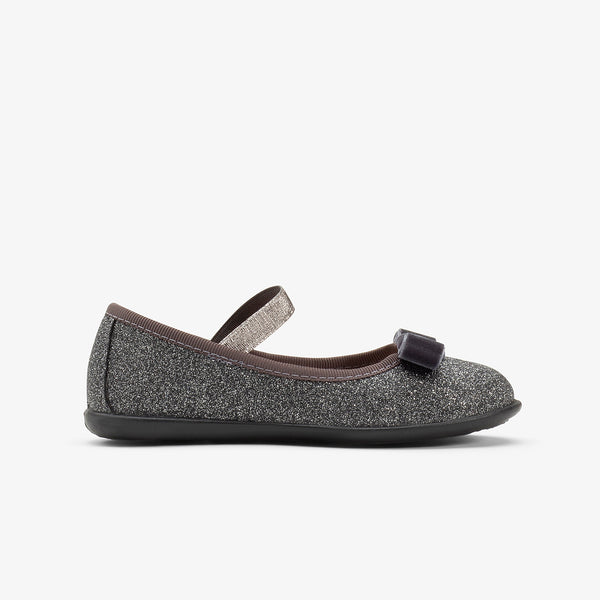 Girl's Lead Glitter Ballerinas