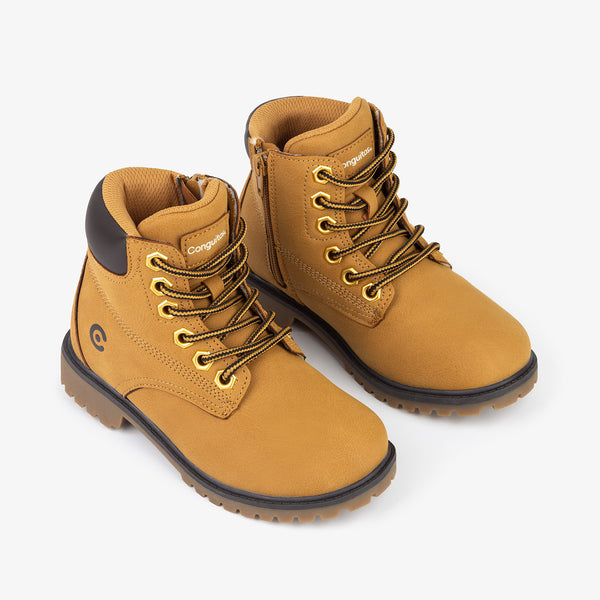 Unisex Orange Mountain Boots