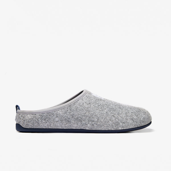 Grey / Blue Home Slippers