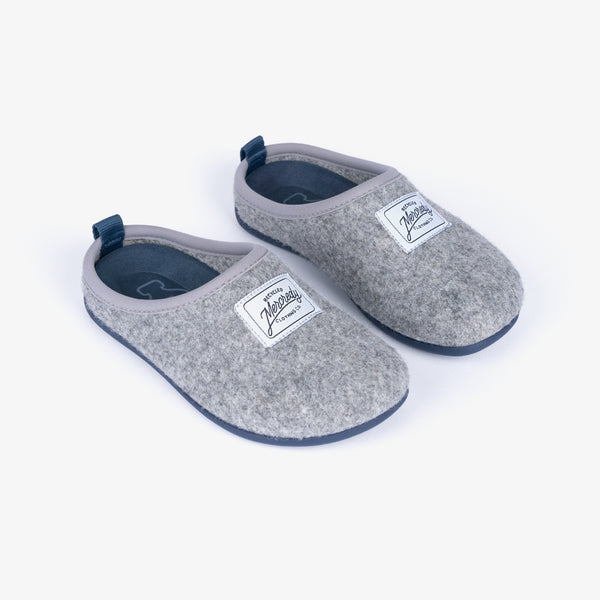 Grey Blue Ecological Home Slippers