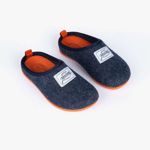 Navy Ecological Home Slippers
