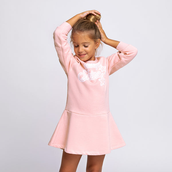 Girl's Pink Glow in the Dark Dress