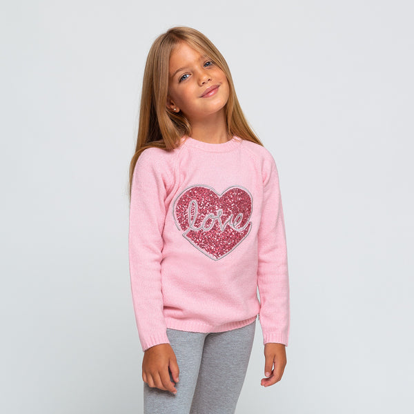 Girl's Pink Love Jersey