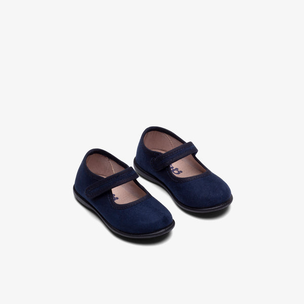 Baby's Navy Water Repellent Mary Janes