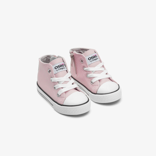 Baby's Pink Napa Boots