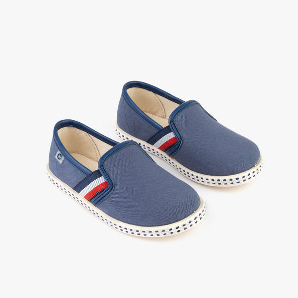 Boy's Blue Canvas