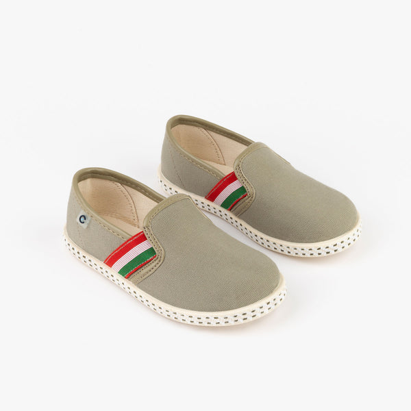 Boy's Khaki Canvas