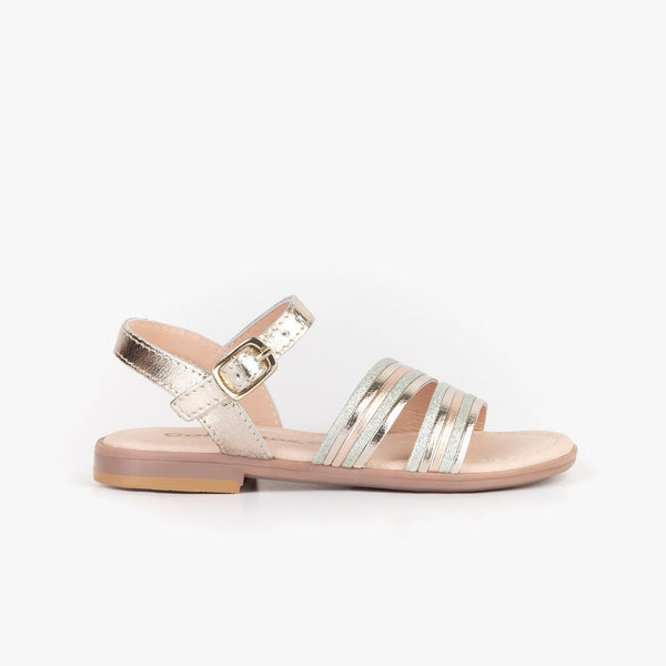 Girl's Multi Stripes Sandals