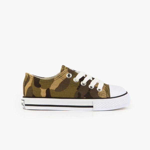 Unisex Camouflage Canvas Sneakers