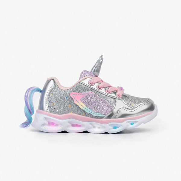 Unicorn Sneakers with Lights