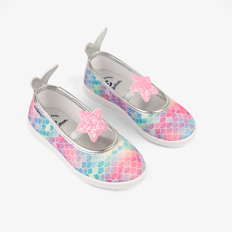 Girl's Mermaid Ballerinas
