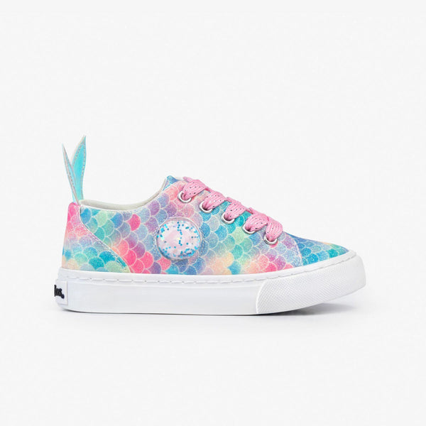 Girl's Mermaid Sneakers