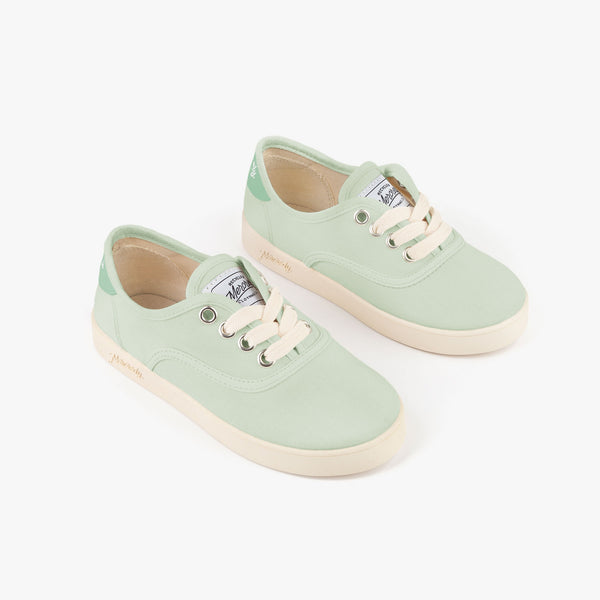 Green Ecological Sneakers Mercredy