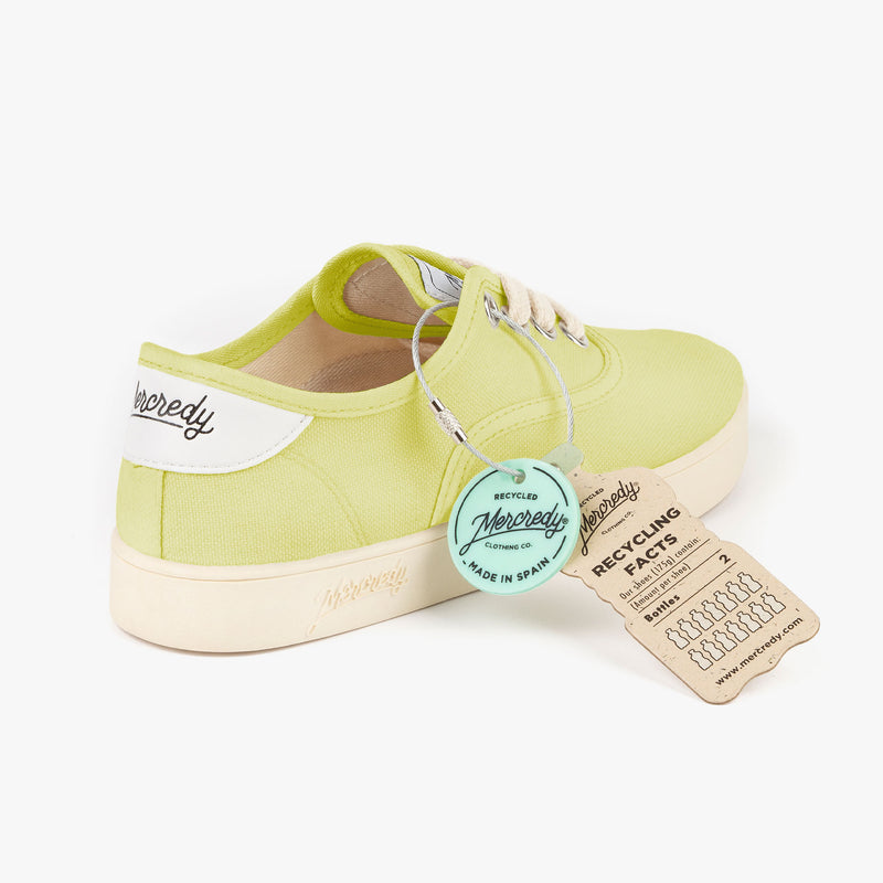 Yellow Ecological Sneakers Mercredy