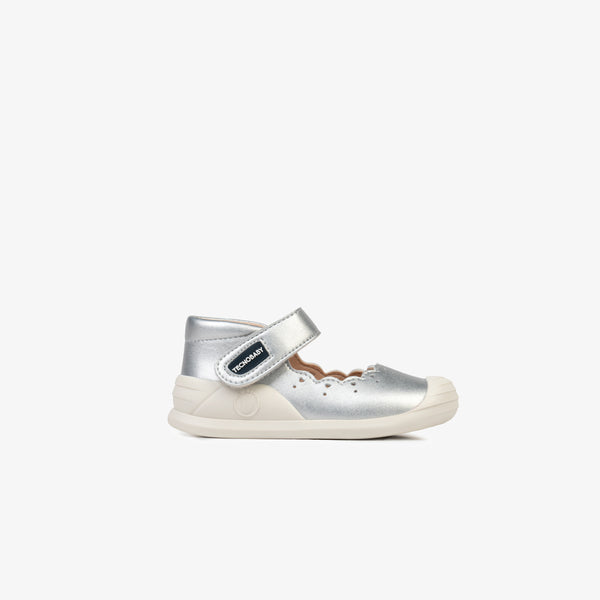 Baby's Silver onMicro® Mary Janes