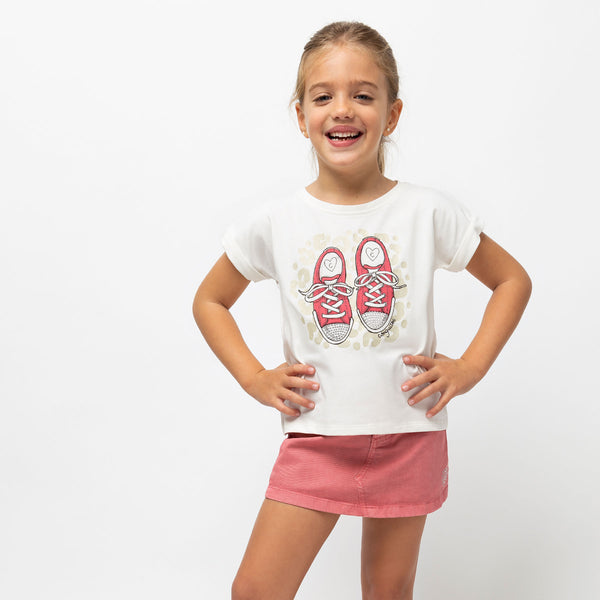 "Girl's ""Sneakers"" Conguitos T-Shirt"