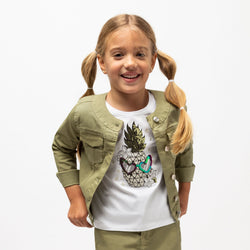 Girl's Khaki Jacket