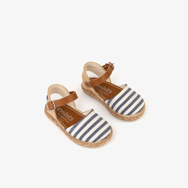 Baby's Blue Stripes Espadrilles