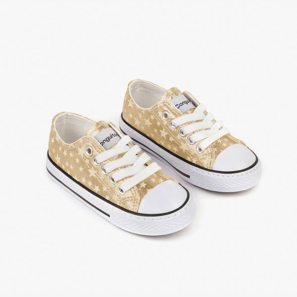 Girl's Platinum Stars Sneakers