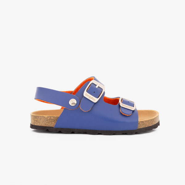 Boy's Blue Synthetic Bio Sandals