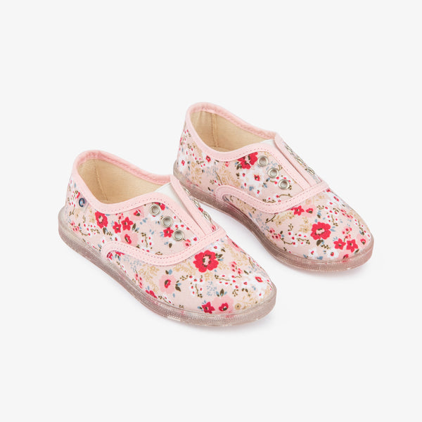 Ecologic Flower Plimsolls