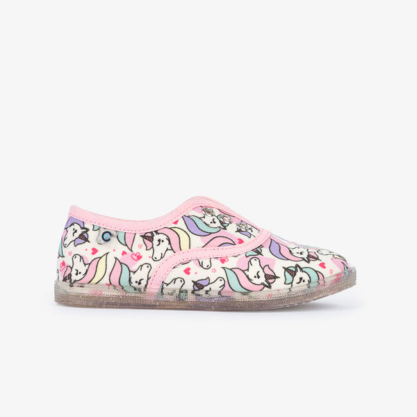Ecologic Unicorns Plimsolls