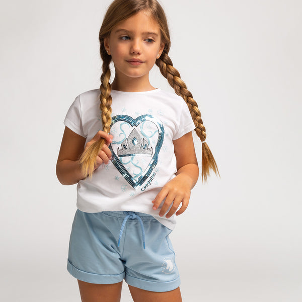 Girl's Fantasy Sequins T-Shirt