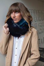 Snood Navy & Blue