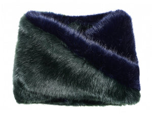 Snood - Snood Navy & Green