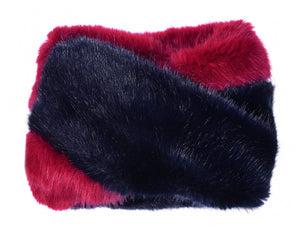 Snood - Snood Navy & Red
