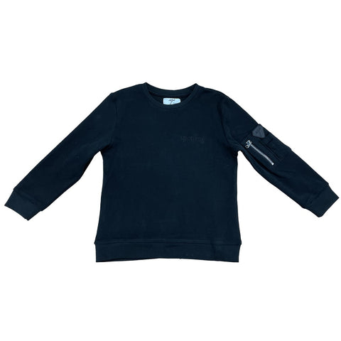 Sweat Noir Sporting x Sgiò - Enfant