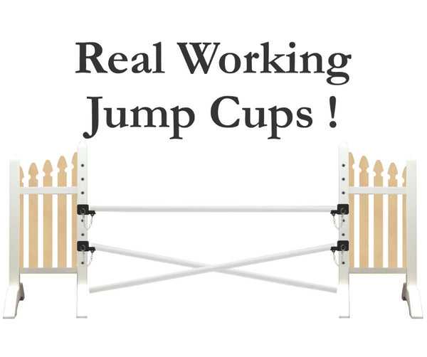 Horse Show Fence Jump - Realistic - Your Breyer horses and Toy horses will love it!