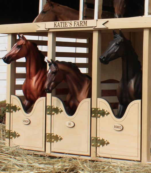 Custom Barn Name and Stall Names
