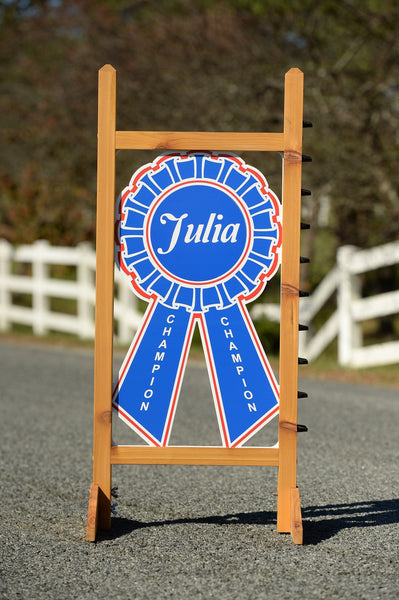 Custom Blue Ribbon Kid  Jump