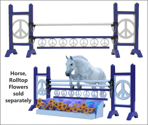 Life Like Peace Jump - Model Size for your Breyer Horses
