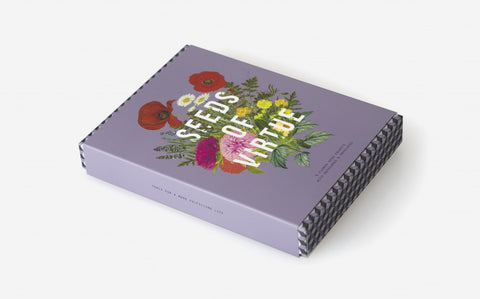 Seeds of Virtue Notecard & Seed Set - Flowers