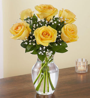 Dearest Love Yellow Roses