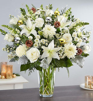 Extravagant Noel Flower Arrangement
