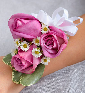 Purple Enchantment Corsage