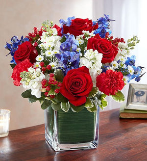 Shared Moments - Red, White, & Blue