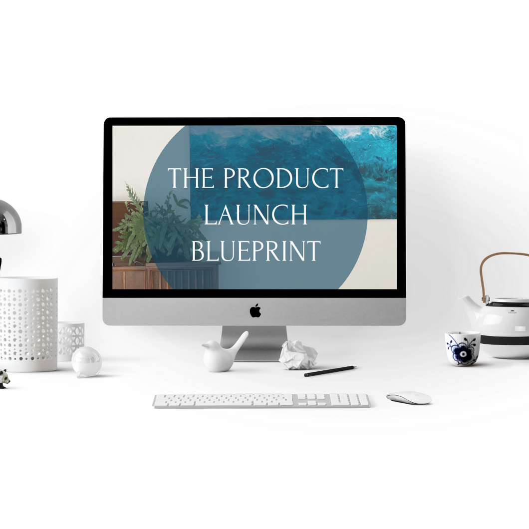 Product Launch Blueprint Strategy + Email Templates + 1:1 Session with Emily