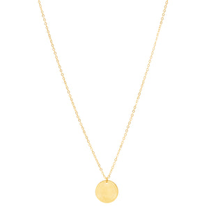 Dainty Disc Necklace