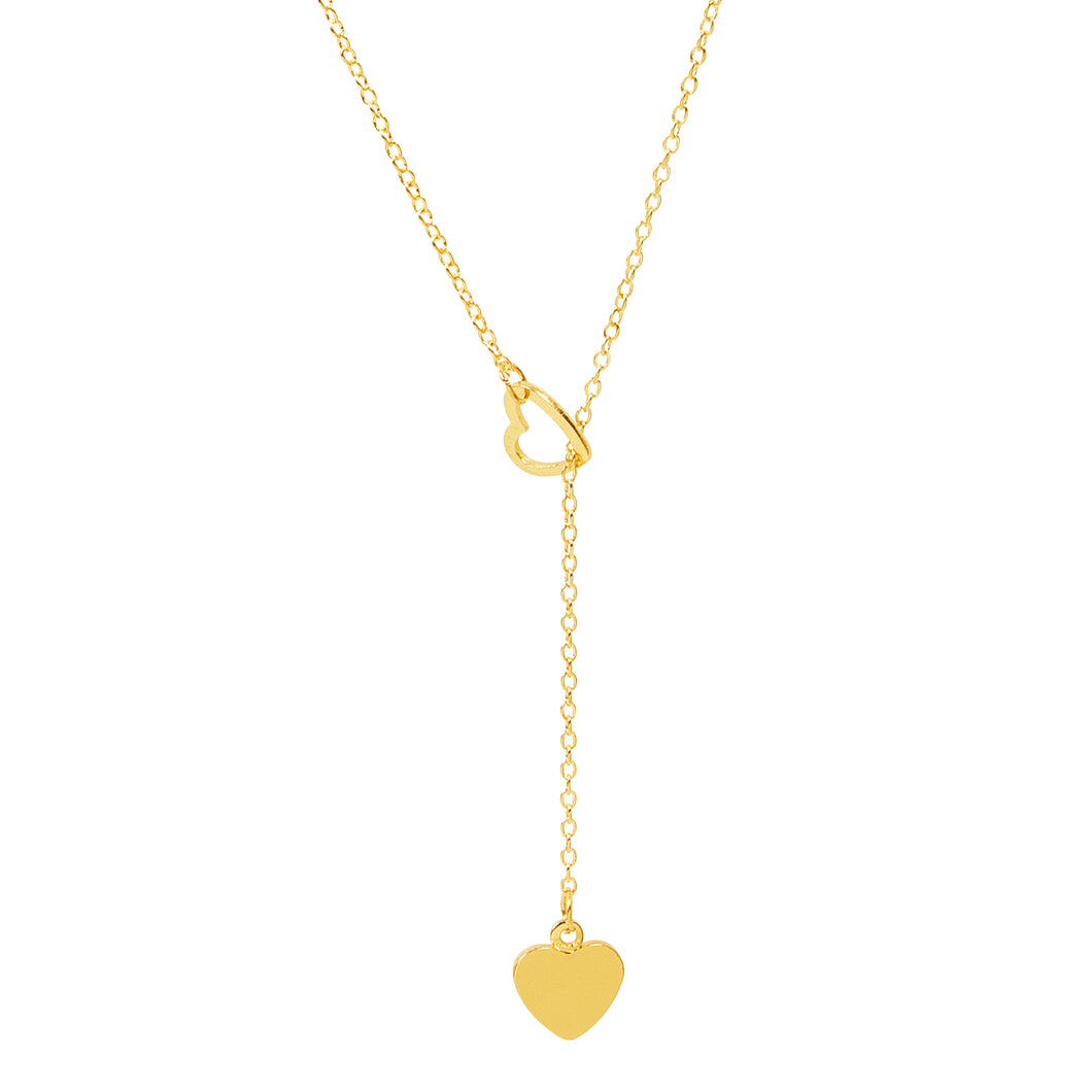 Sweetheart Lariat Necklace
