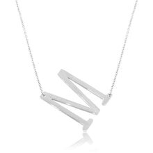 Load image into Gallery viewer, Signature Initial Necklace (Silver)